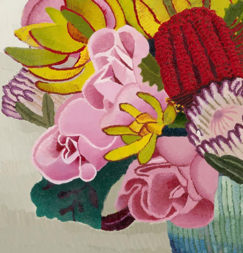 Dianne's Bouquet, oil on canvas, Elisabeth Howlett, 2010