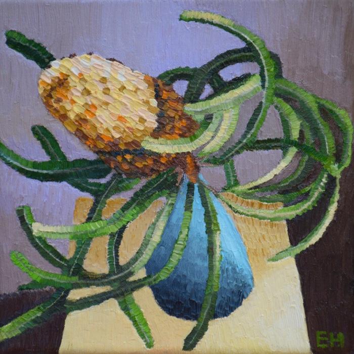 Banksia Sway, oil on canvas, Elisabeth Howlett