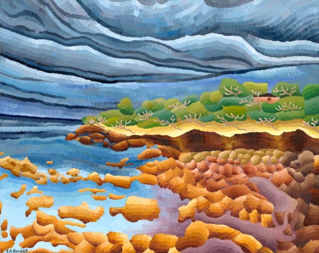 Shack Landscape